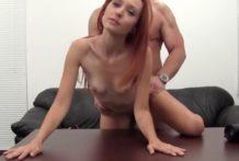 Porno – casting a análny sex s ryškou