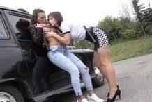 Female taxi – sex s českou taxikárkou