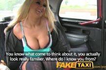 Fake taxi – divoko nadržaná blondínka