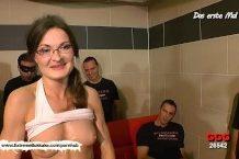 Bukkake s nemeckou žienkou