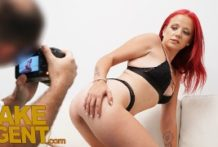 Porno kasting u fake agenta