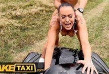 Fake taxík s nadržanou dračicou