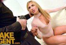 Fake agent – blond cicka na kastingu