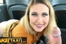 Fake taxi porno s nadržanou sexy blondínkou