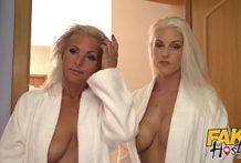 Fake hostel – erotická trojka s babami